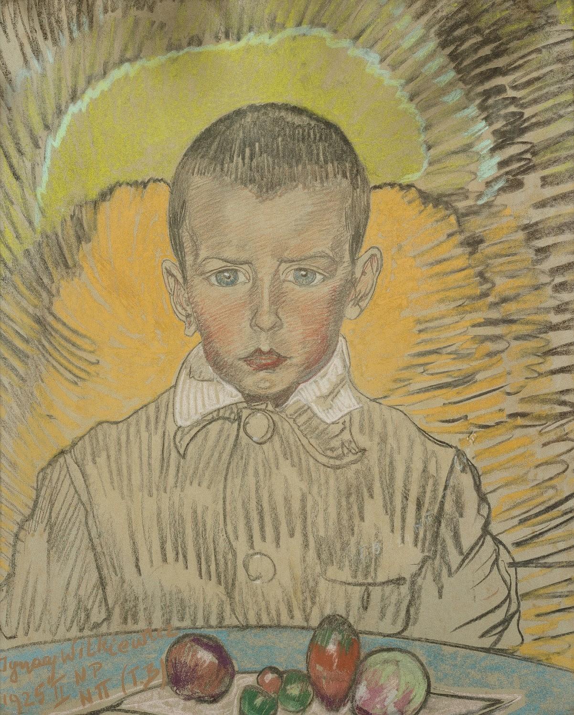 Portret Kazimierza Burnata, 1925