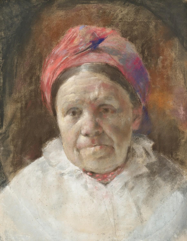 Portret kobiety w chuście