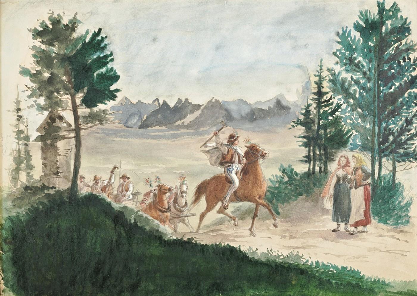 Wesele góralskie, 1894