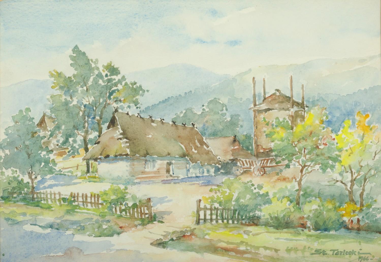 Wiejska chata, 1966