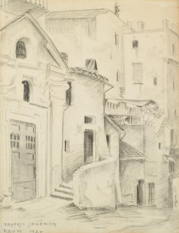 Zaułek rzymski, 1924