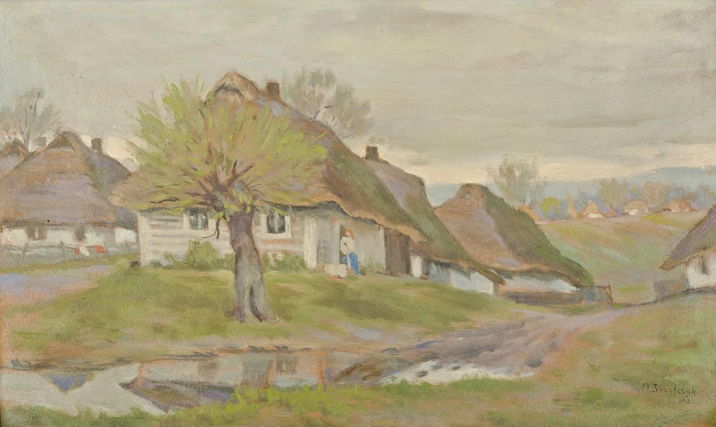 Wiejskie chaty, 1943