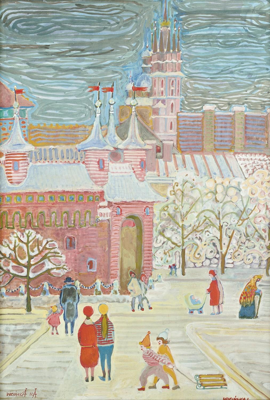 Zimą pod Barbakanem
