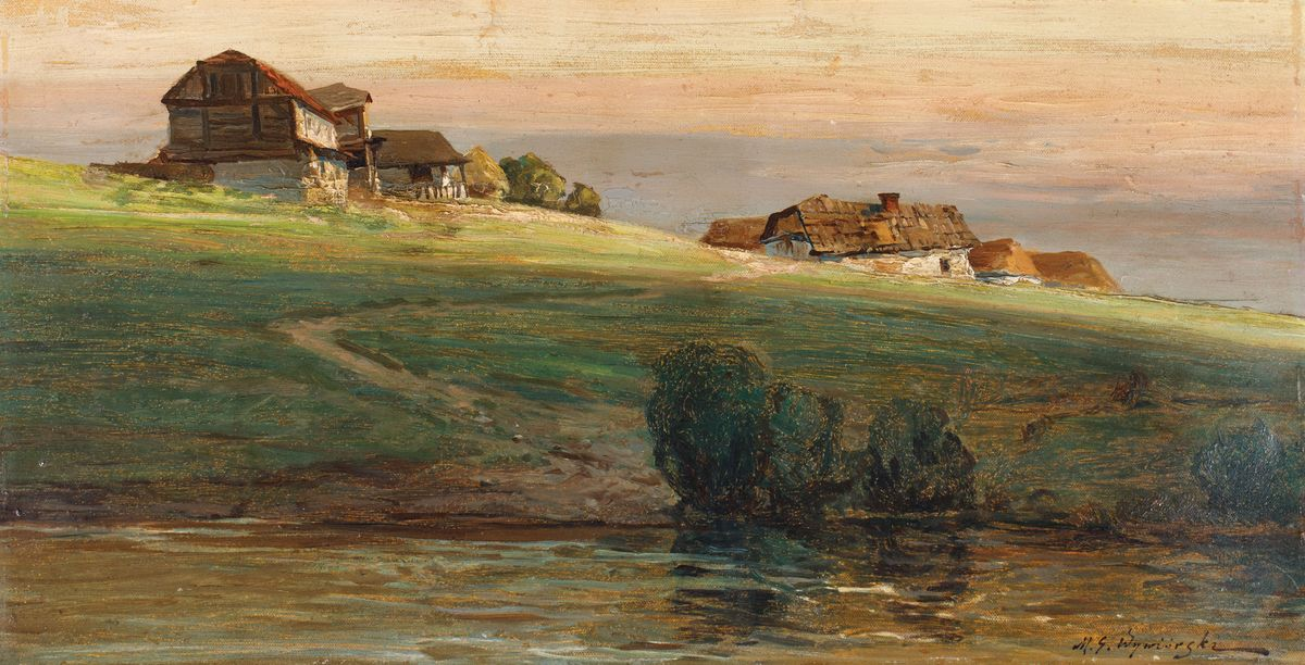 OSTATNI PROMIEŃ – MOTYW Z PODOLA, przed 1904