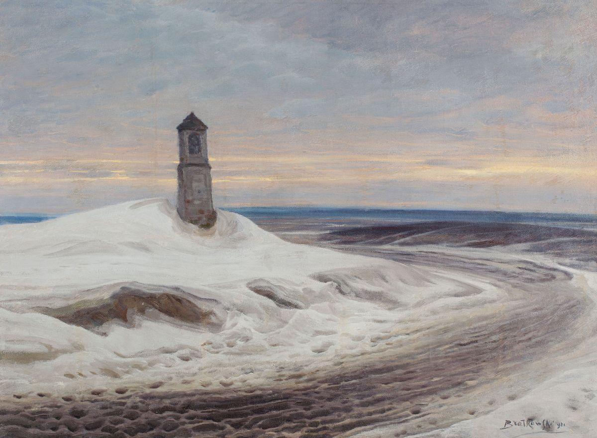 KAPLICZKA NA ŚNIEŻNYM STEPIE, 1921
