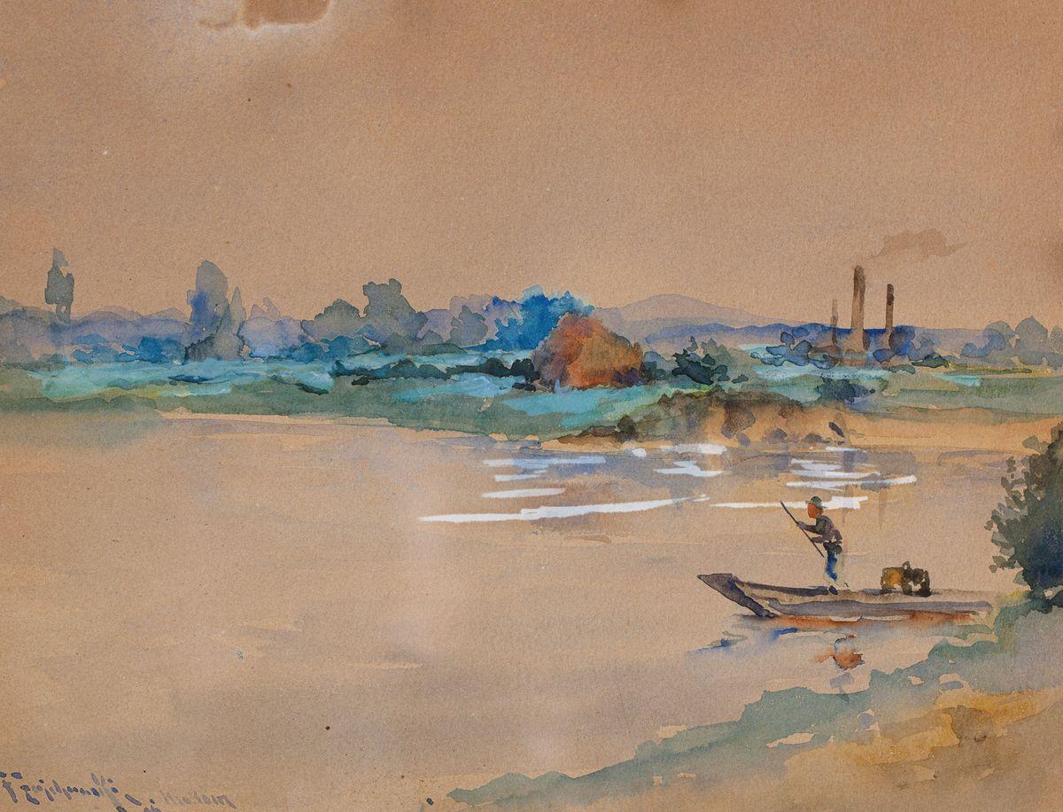 NAD WISŁĄ, 1896
