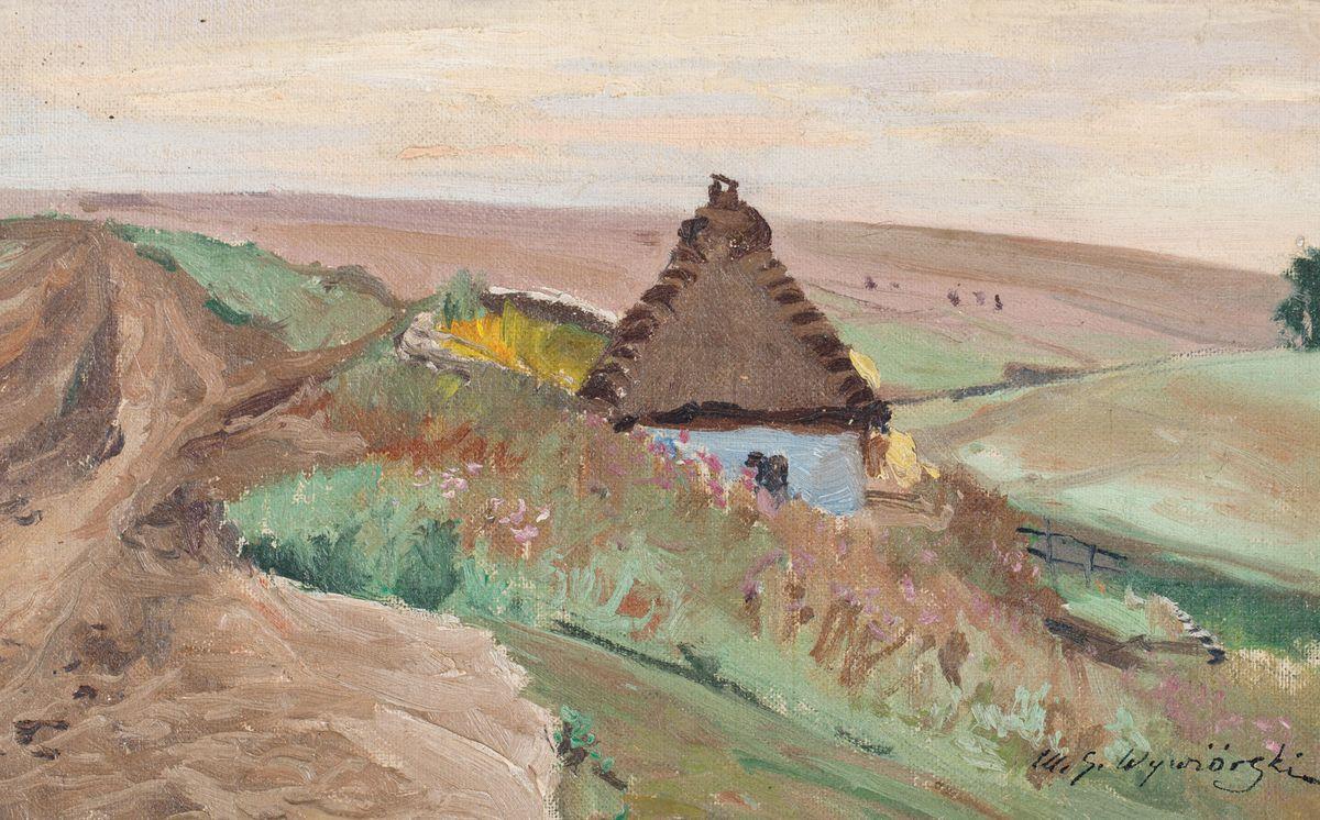 CHATA NA ZBOCZU, 1900 - 1915