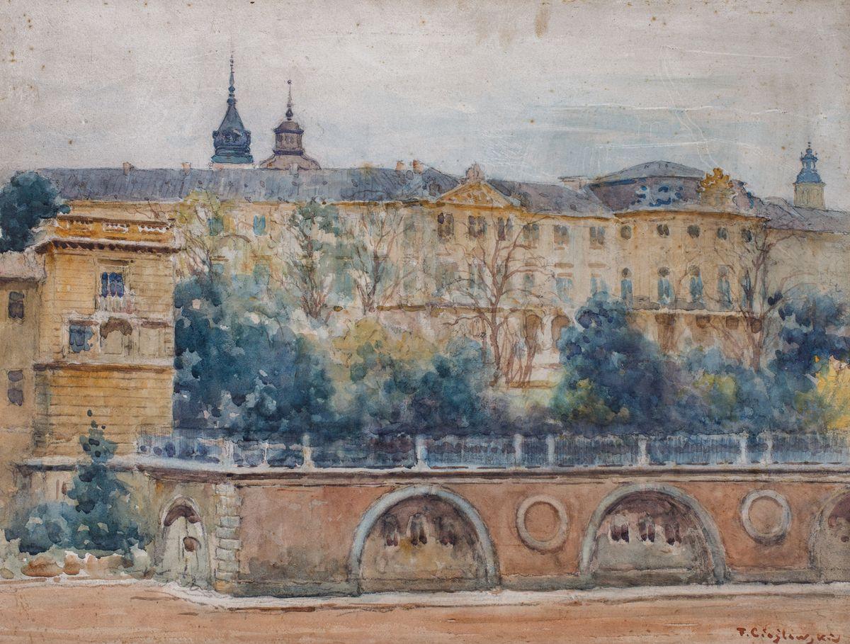 ZAMEK KRÓLEWSKI W WARSZAWIE, ok. 1925