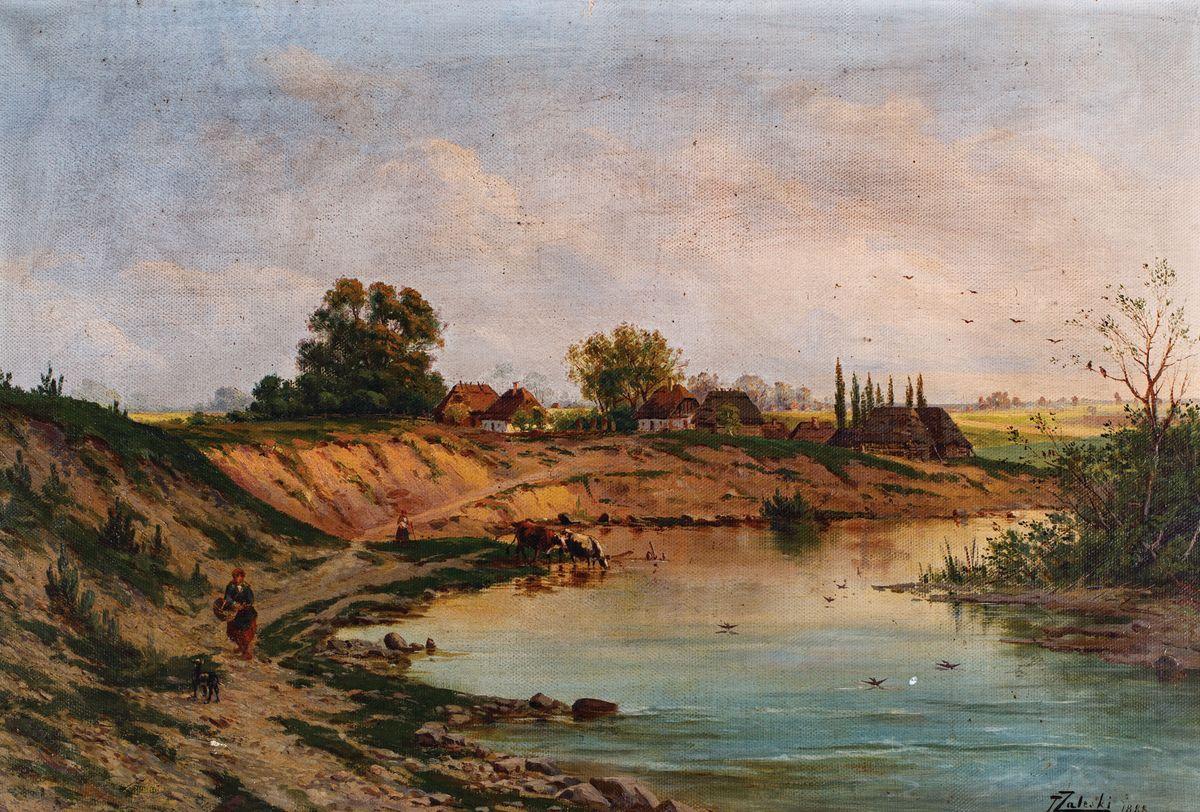ZAKOLE RZEKI, 1885