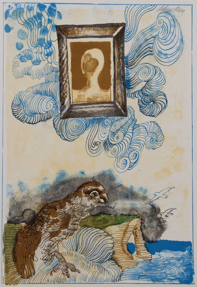 PORTRET W CHMURACH, 1972