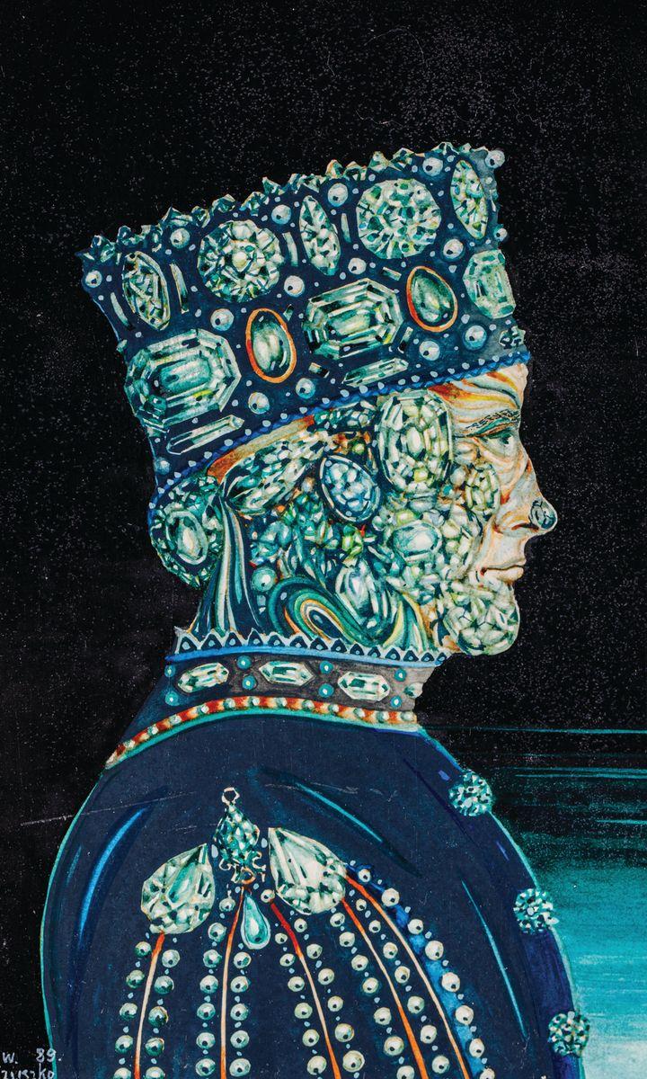 SZMARAGDOWY KSIĄŻĘ, 1989