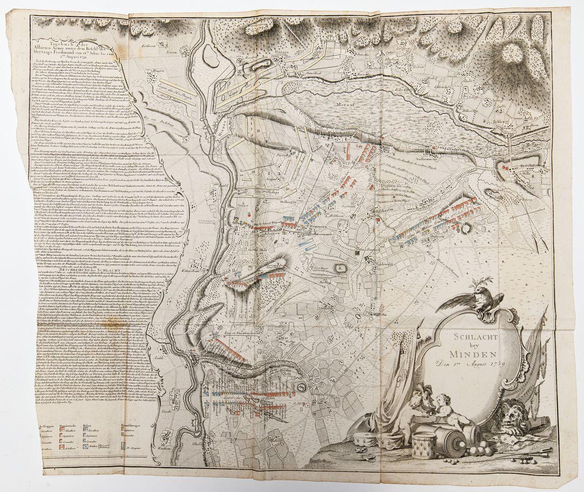 BITWA POD MINDEN, ok. 1775