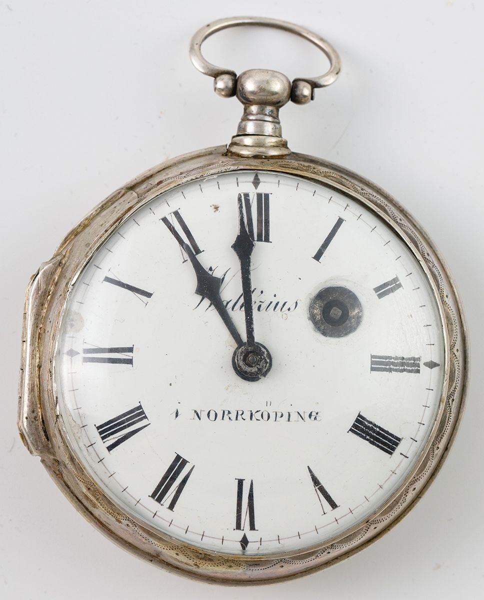 ZEGAREK KIESZONKOWY, Szwecja, Wallerius Norrköping, ok. 1820