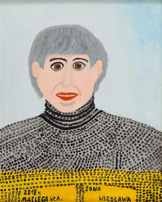 """""""Portret żony"""", 2018"""