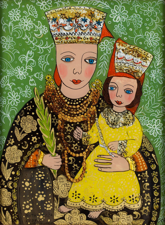 Matka Boża w Topoli Królewskiej, 1994
