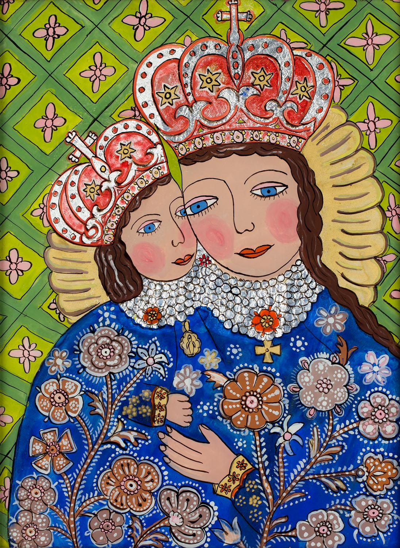 Matka Boża Kalwaryjska, 1991
