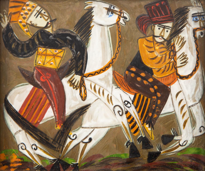 Zbójnicy na koniach, około1965