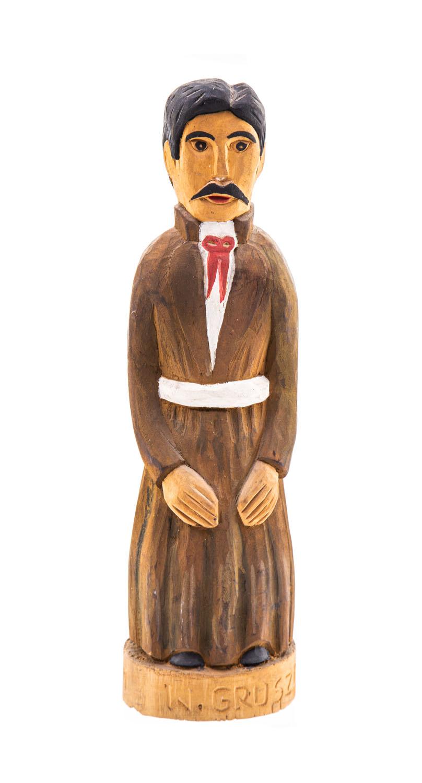 Mężczyzna w stroju radomskim