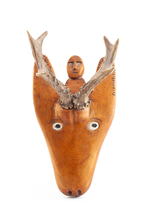 Głowa jelenia , 1975