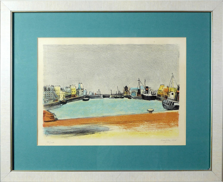 Port w Cherbourgu, 1948 r.