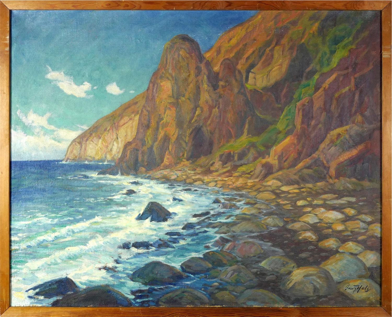Skaliste wybrzeże, ok 1920 r.