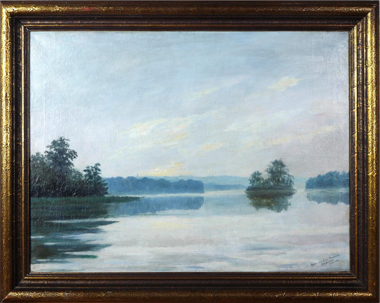 Spokojne jeziorno, 1924 r.