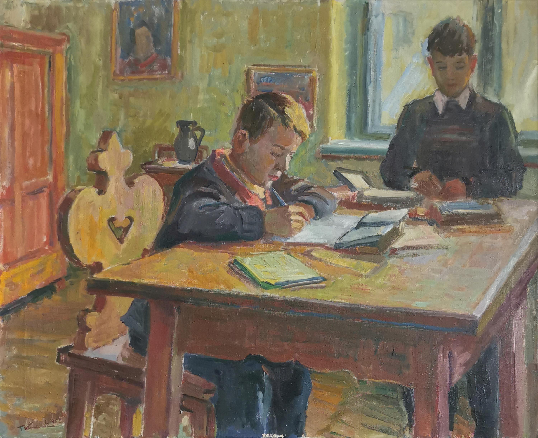 Przy stole, 1952