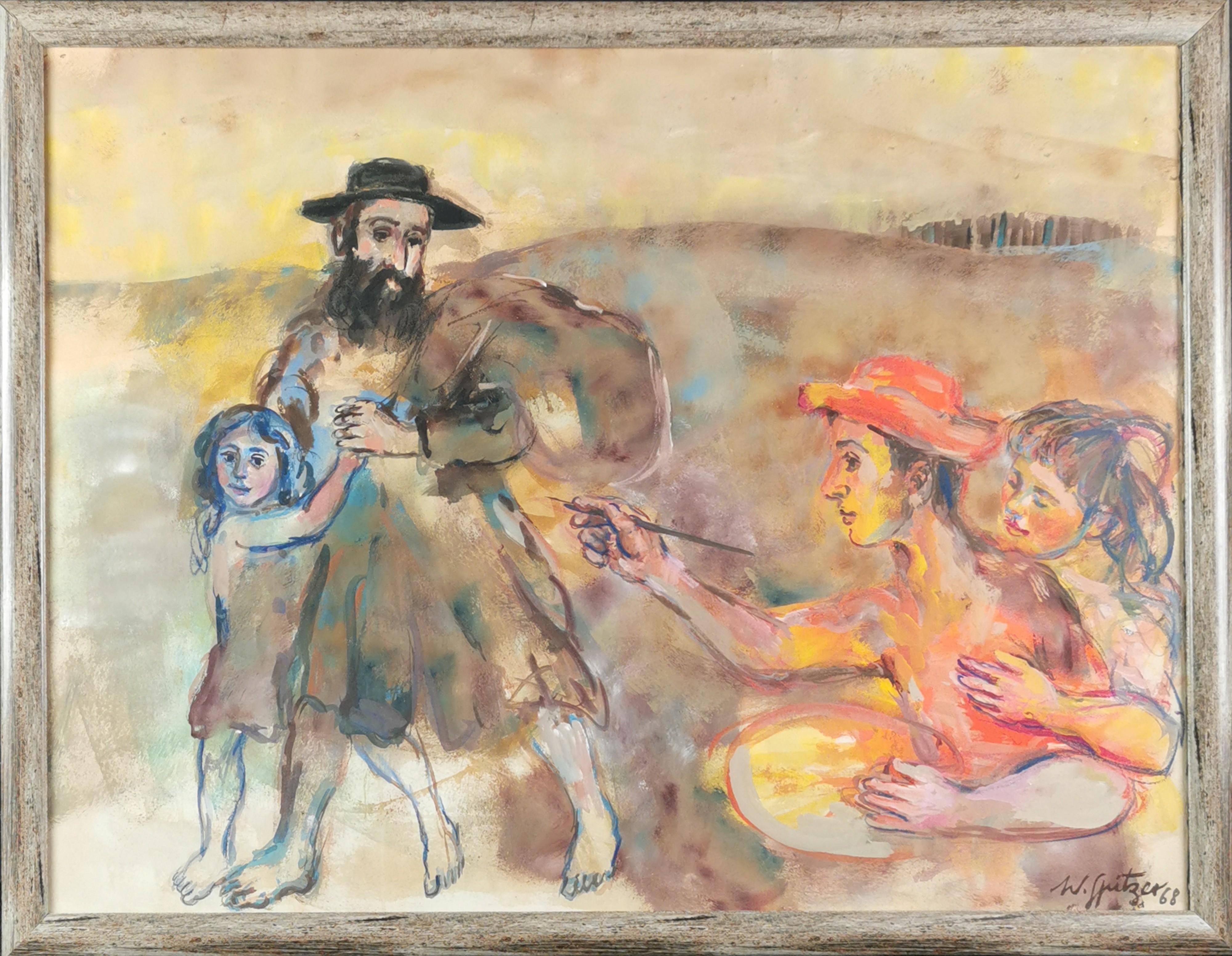 Wizja malarza, 1968