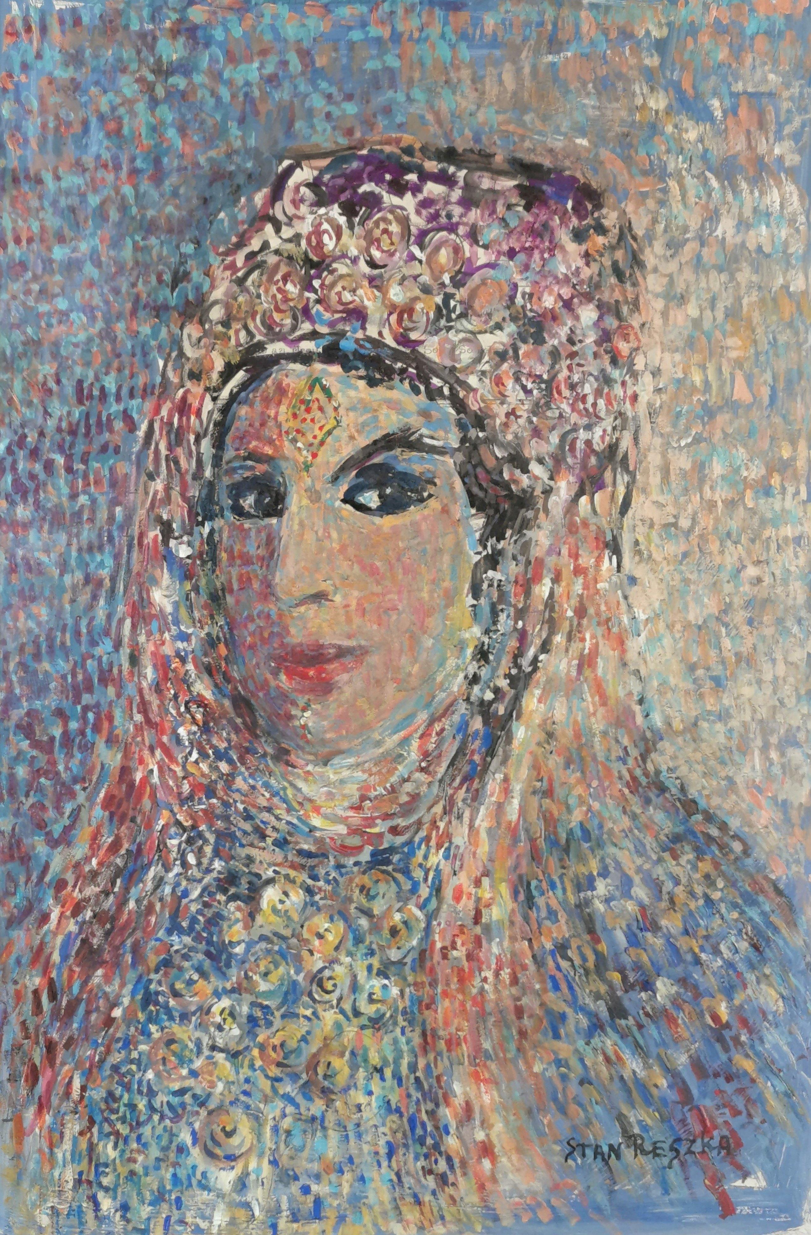 Piękna arabska dziewczyna