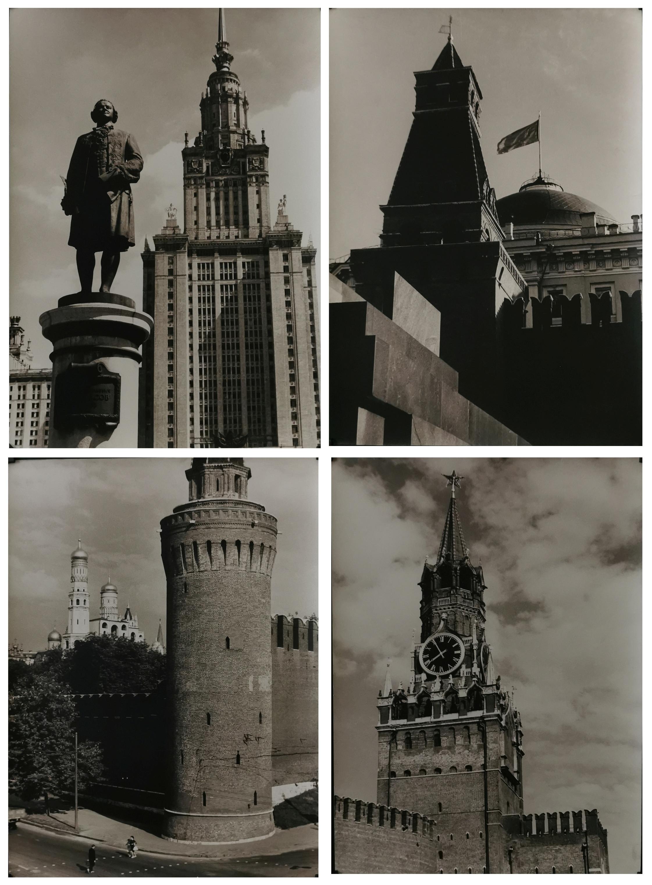 Zestaw 10 fotogramów - Moskwa