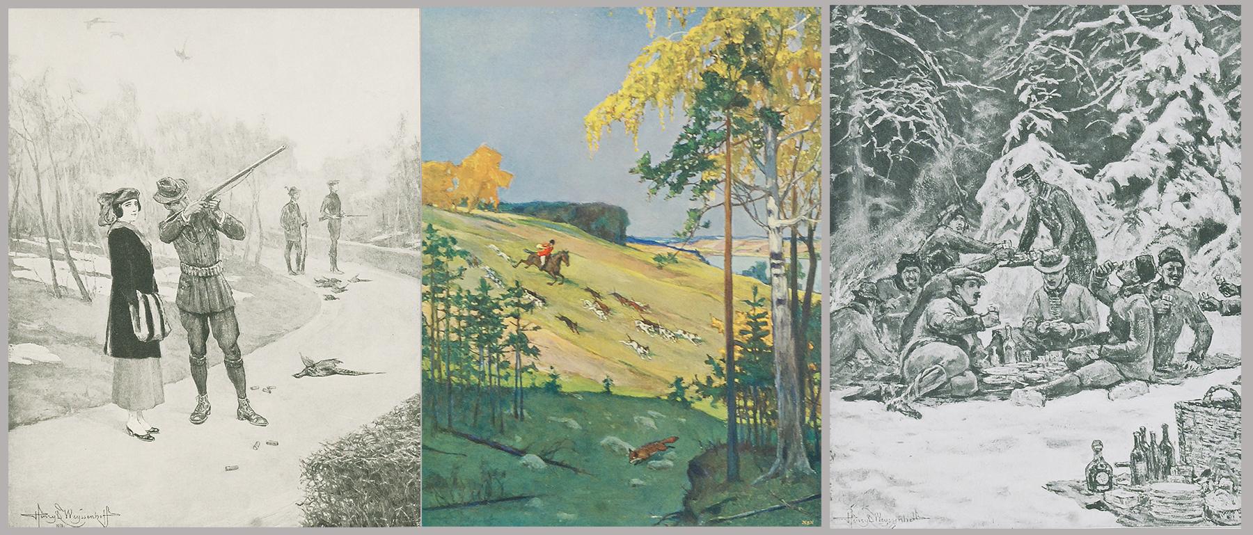 Józef WEYSSENHOFF (1860-1932), Henryk WEYSSENHOFF (1859-1922)