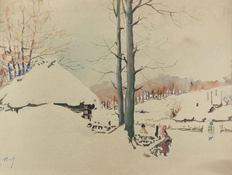 Zima w wiosce