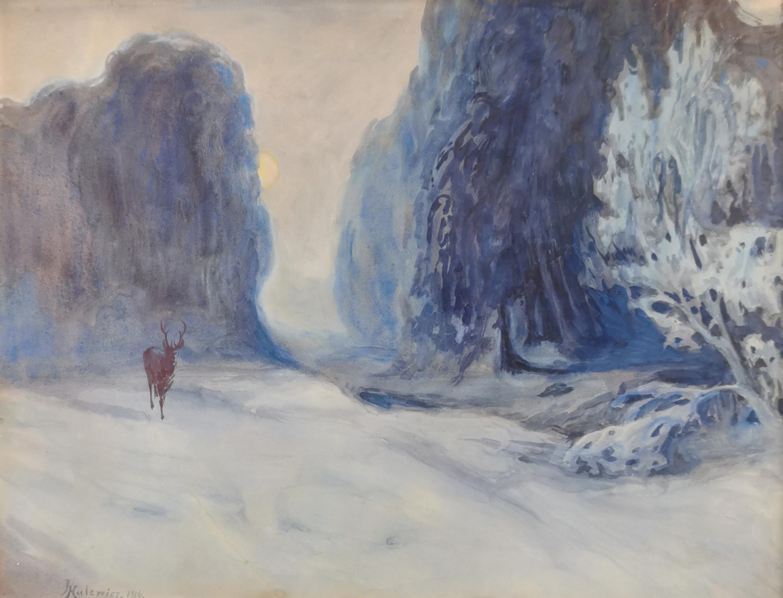 Zima, 1916