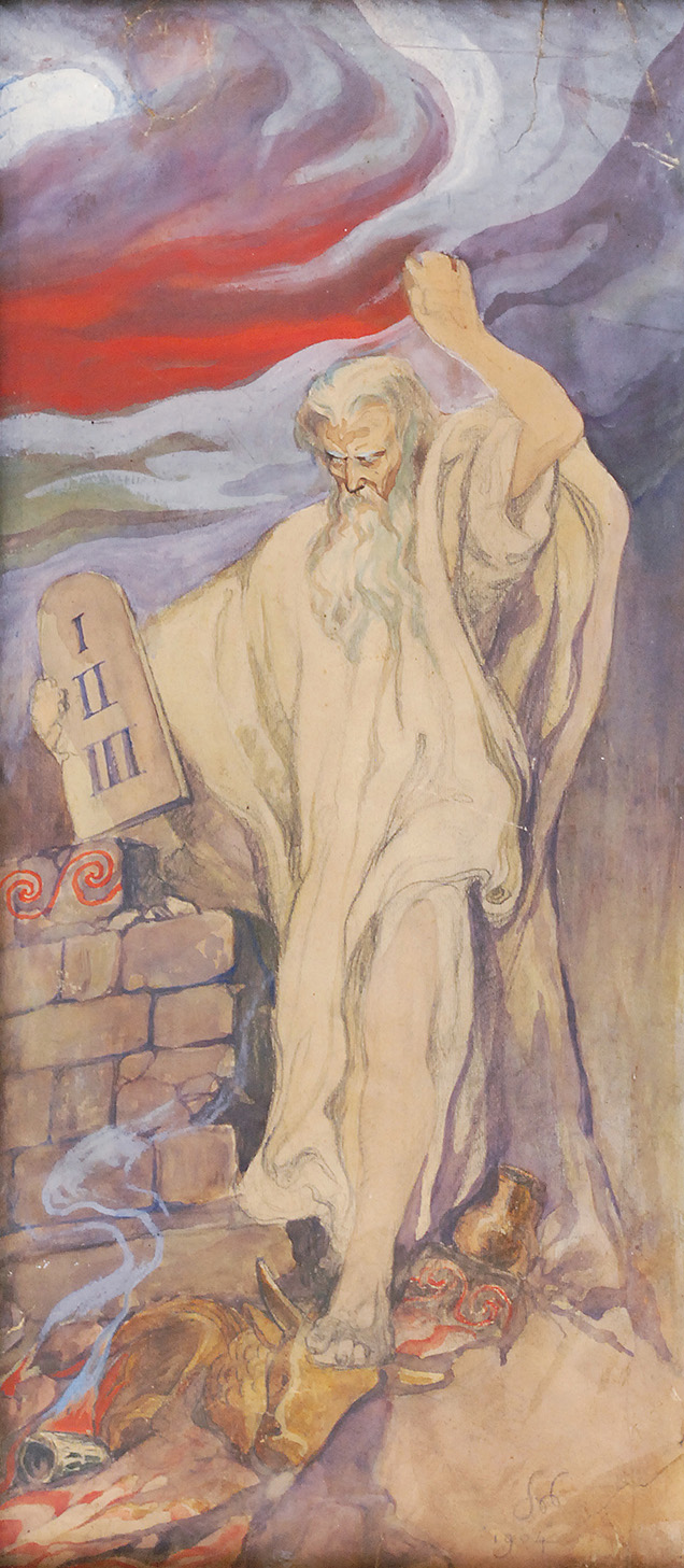 Mojżesz, 1904