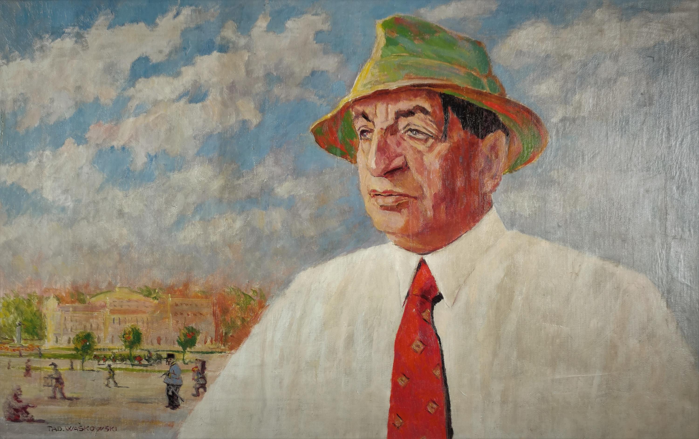 Portret aktora Leona Wyrwicza