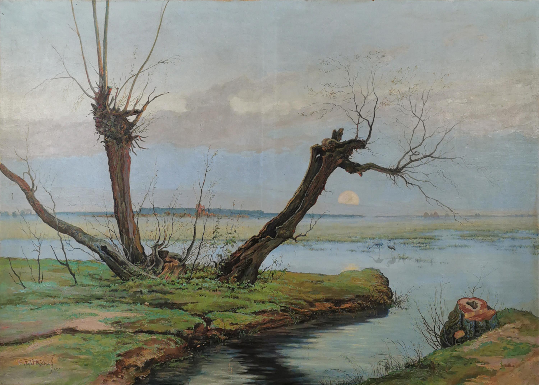 Wierzby nad rzeką, 1930