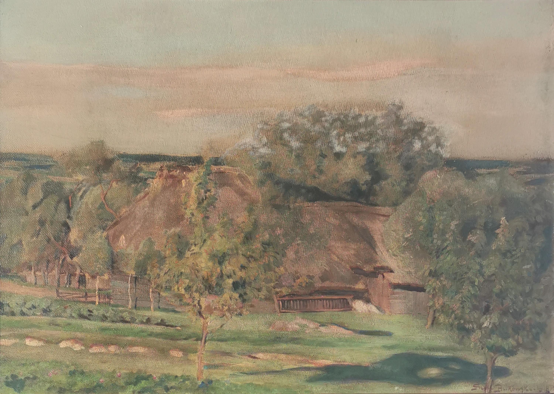 Motyw wiejski, 1918