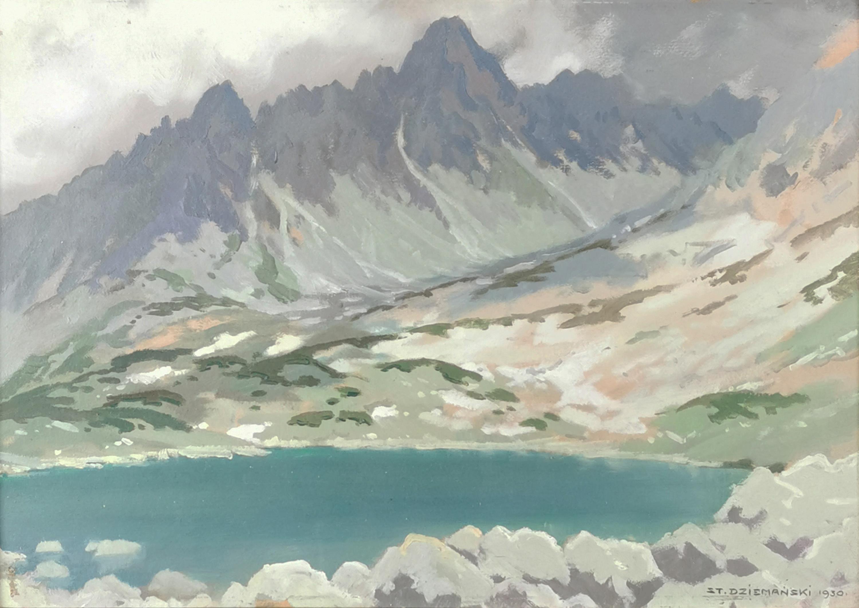 Kaczy Staw w dolinie Białej Wody, 1930