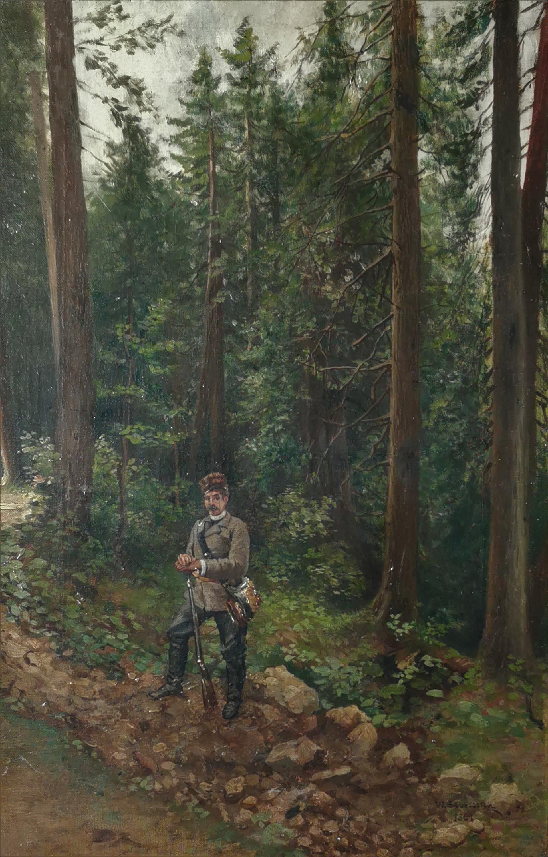 Na stanowisku, 1891
