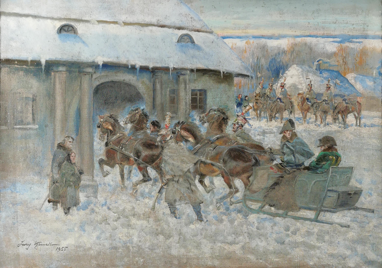 Jerzy KOSSAK (1886-1955) i pracownia