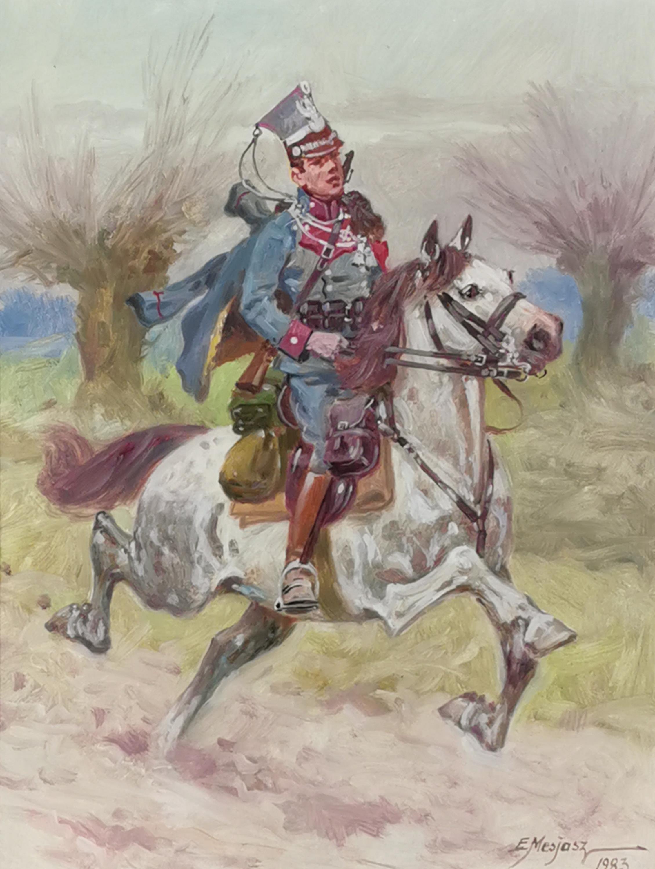 Ułan na koniu, 1983