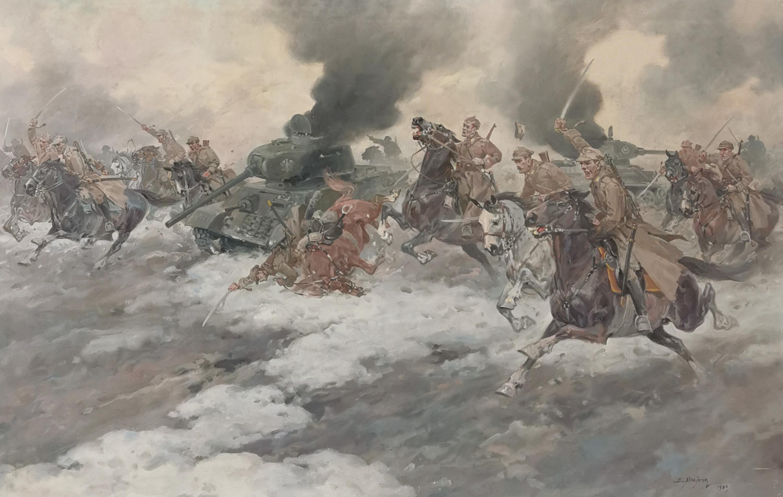 Szarża pod Borujskiem, 1983