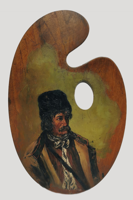 Kozak - obraz na palecie