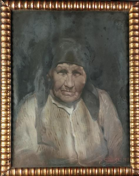 Portret starszej kobiety, 1911