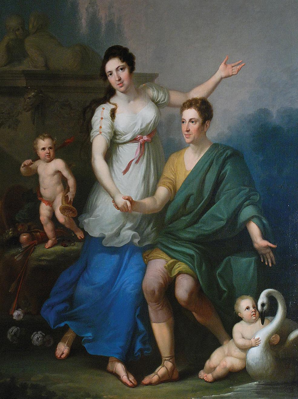 Jan Chrzciciel LAMPI MŁODSZY (1775-1837) - przypisywany