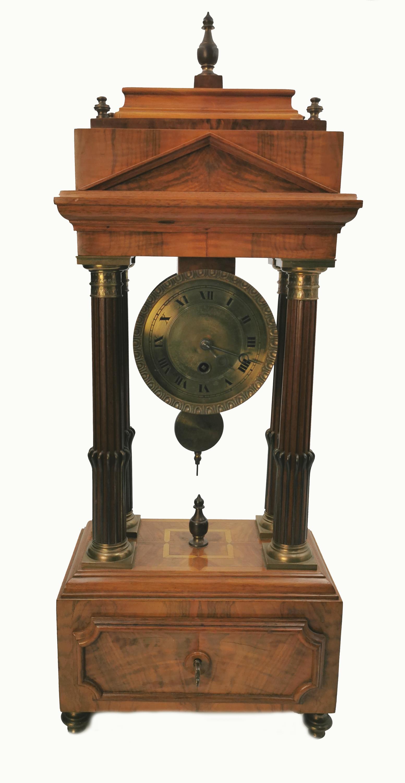 Zegar portykowy, eklektyczny