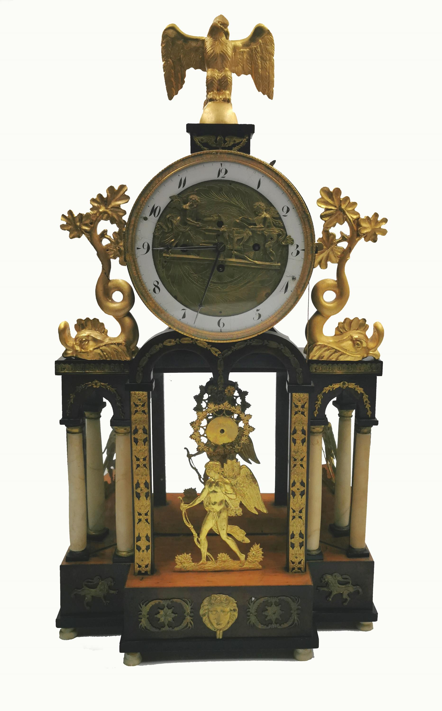 Zegar kominkowy, portykowy