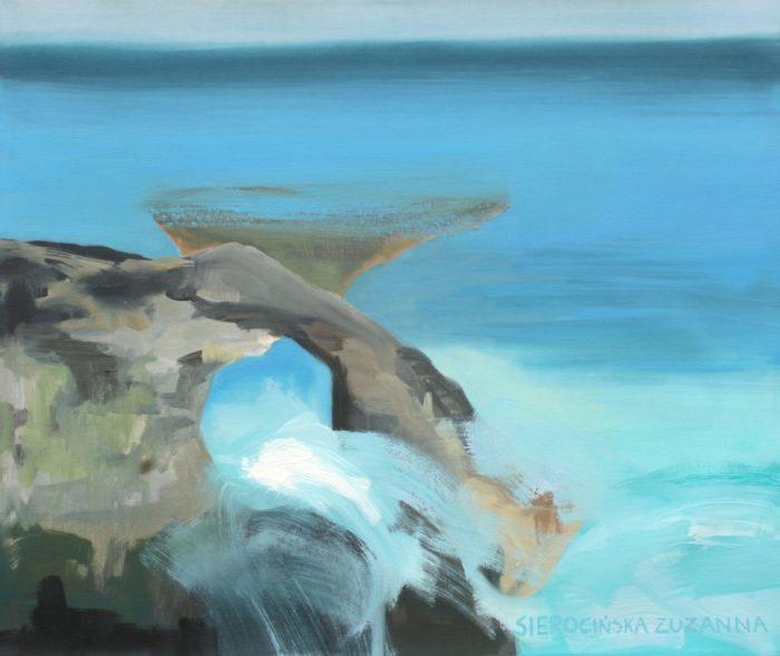 Oceaniczny Brzeg Las Cruces Teneryfa, 2020