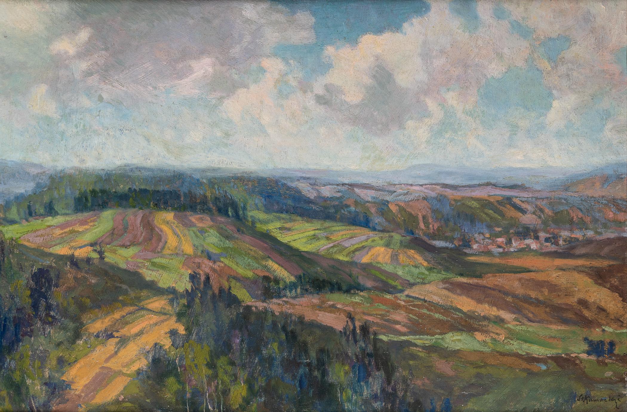 Pejzaż podgórski, ok. 1906