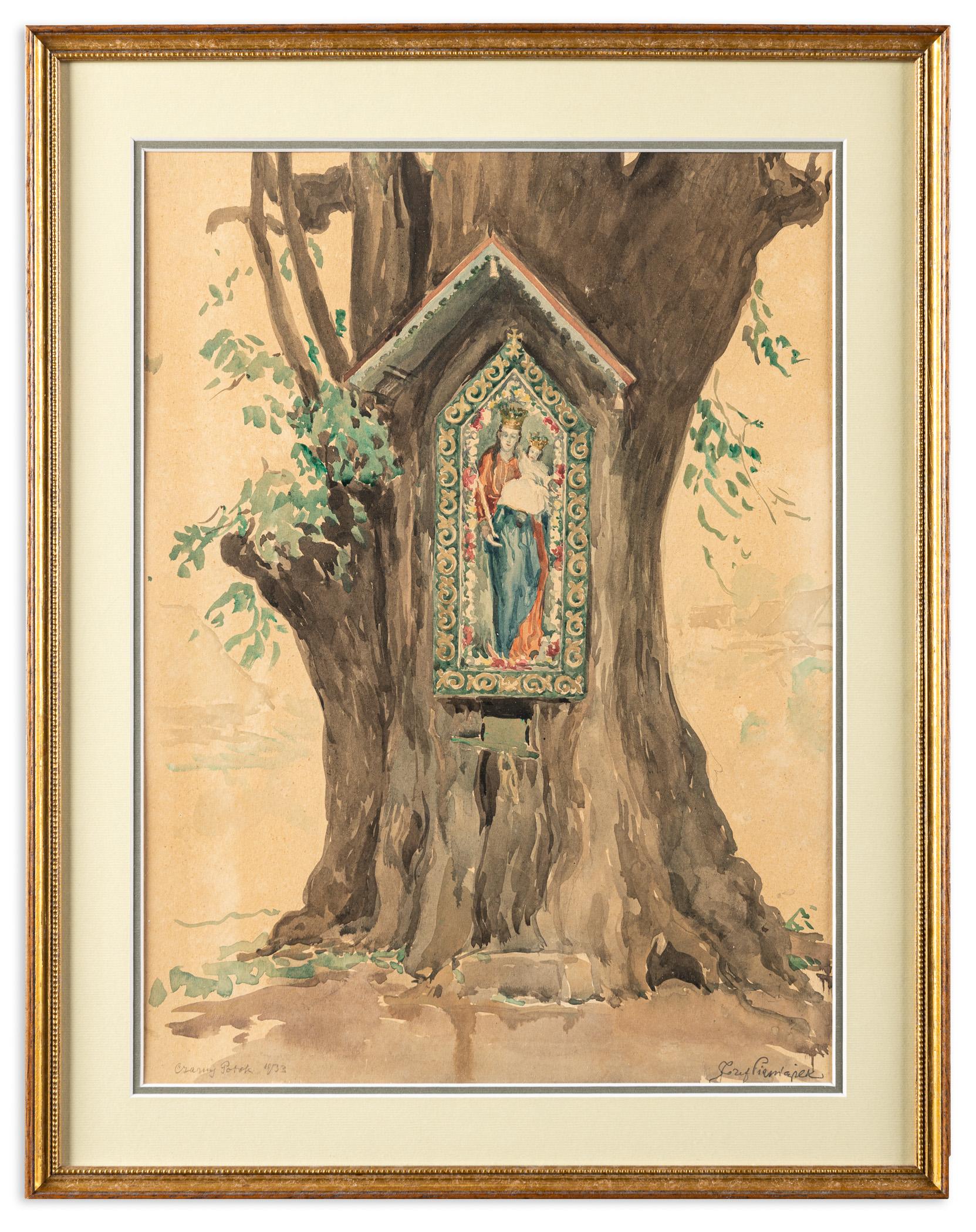 Kapliczka maryjna z Czarnego Potoku, 1933